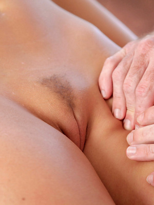What starts off as a sensual massage ends up a passionate moment in bliss.